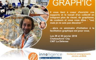 International Milestones Facilitation Graphique Innolligence